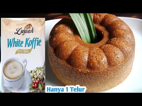 Resep Bolu Kukus Luwak White Coffee Hanya 1 Telur Bolu Kopi Youtube Food Bolu White Coffee