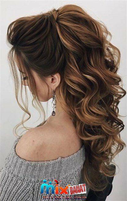 تسريحات لاجمل سهرات 2020 اجمل تسريحات لاجمل سهرات 2020 Hair Styles Medium Hair Styles Curls For Long Hair