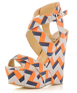 I'd rather have chevron on my feet
