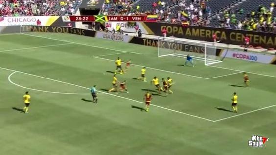 Jamaica Venezuela 0-1 buen debut de los vinotintos   Copa América 2016 https://t.co/qUX0Bx3ffQ