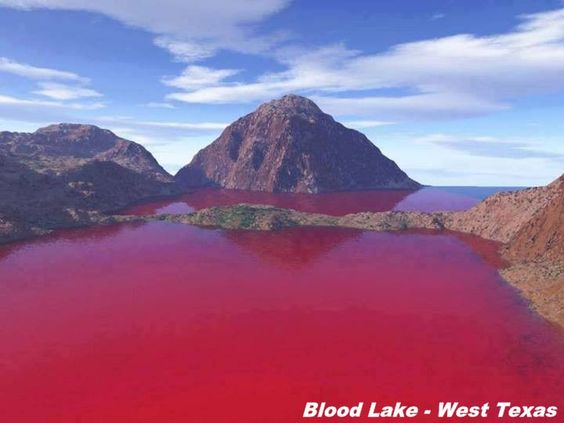 Blood Lake - West Texas