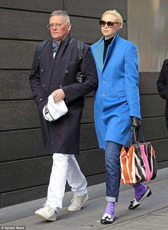 Gwendoline Christie is joined by boyfriend Giles Deacon in ...