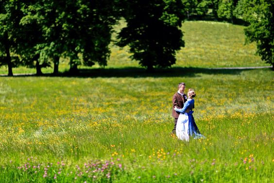 Brautpaar am Tegernsee/ Liedschreiber