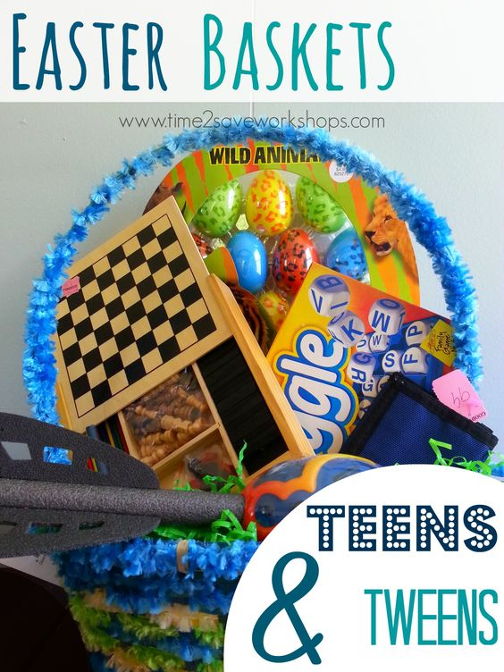 If you have a teen or a tween, you know it gets HARDER to fill those baskets.  Use Goodwill and Clearance finds to make a great basket - here are 5 Frugal ideas!