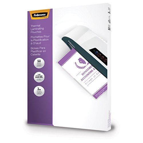Fellowes Laminating Pouches Thermal Legal Size 3 Mil 50 Pack 52226 See This Great Product This Is An Affiliate Link Fellowes Thermal Pouch