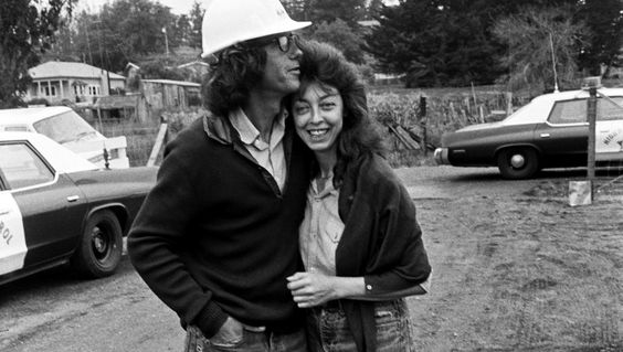 Christo and Jeanne-Claude! I love this photo <3