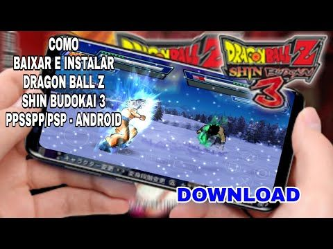 Dragon Ball Z Shin Budokai 3 Para Ppsspp Android Qualquer