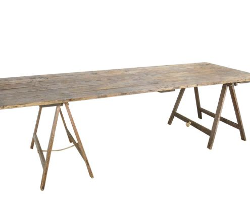 Vintage Trestle Tables For Hire In 2020 Trestle Table Table