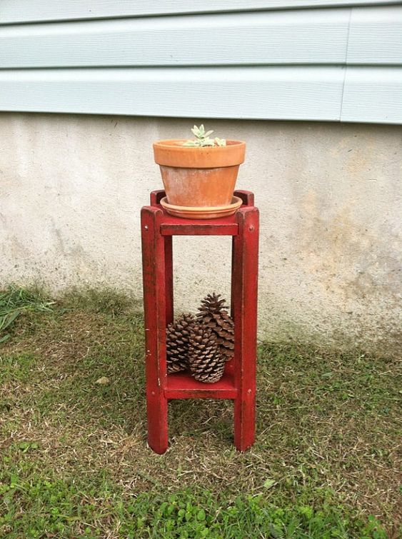 Primitives Country Decor  Rustic Home Decor  by TimelessNchic, $19.95 ------------Every guy made one of these in shop class in the 50's and 60's.  Great use for this one!