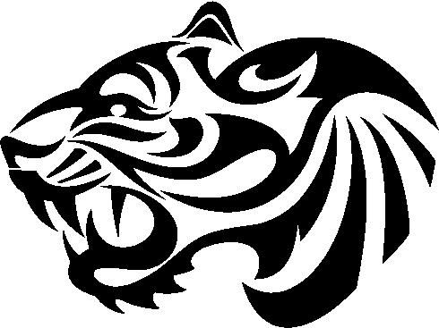 Gallery For gt Easy Tiger Face Stencil