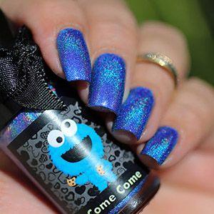 PRE-ORDER Esmaltes da Kelly- Sesame Street- Come Come (Cookie Monster)
