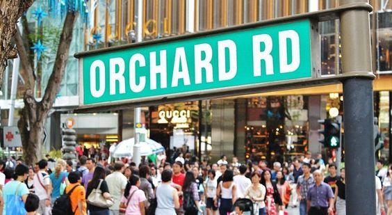 Các khu mua sắm tại Singapore
