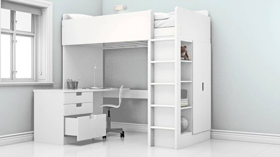 Ikea Stuva Bed as in middle room upstairs Space-saving Loft Beds