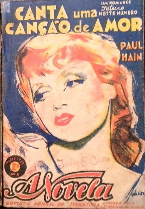 Revista A Novela número 6, 1937: