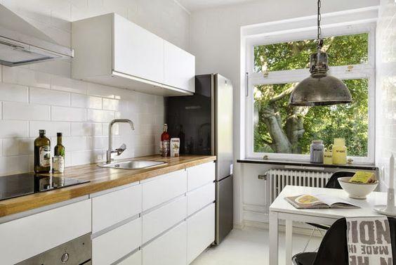 Jurnal de design interior - Amenajări interioare, decorațiuni și inspirație pentru casa ta: Decor nordic într-un apartament de două camere