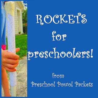 Rockets for Preschoolers (and other ages)!  Easy, and it flies several stories high!