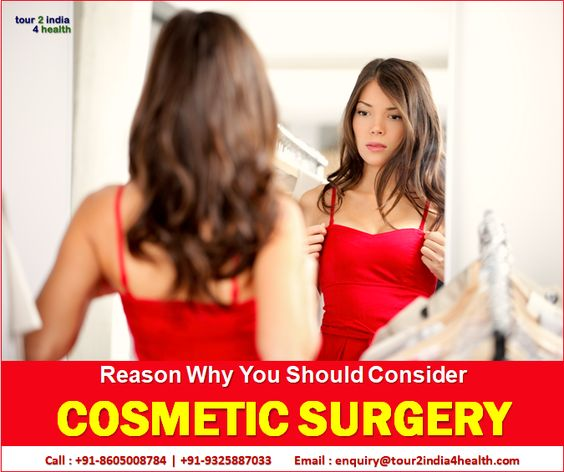 Why Consider Cosmetic Surgery India