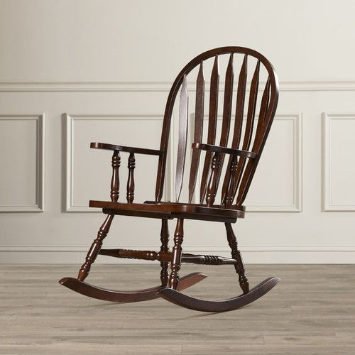 Found it at Wayfair - Dollison Rocking Chair with Arms