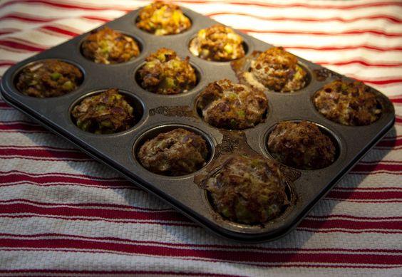 Turkey Muscle Muffins
