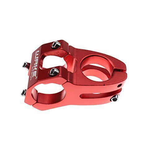 Cycling Bicycle MTB BMX Bike Handlebar Stem Component Part 31.8*45mm Black Red