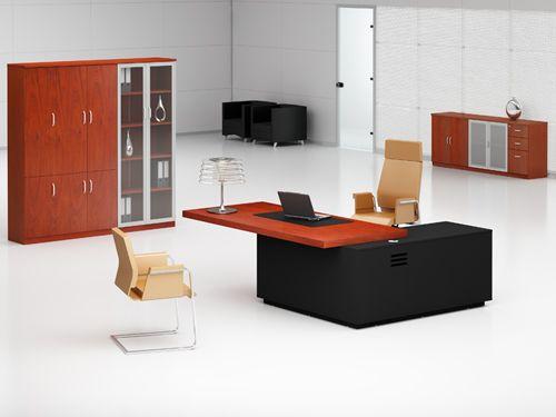 Büroeinrichtung design  Designer Chef Schreibtisch #DesignerChefSchreibtisch ...