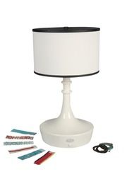 Bracelet Outdoor Table Lamp  Contemporary, Transitional, Metal, Table by Linda Allen Designs  Live Anywhere