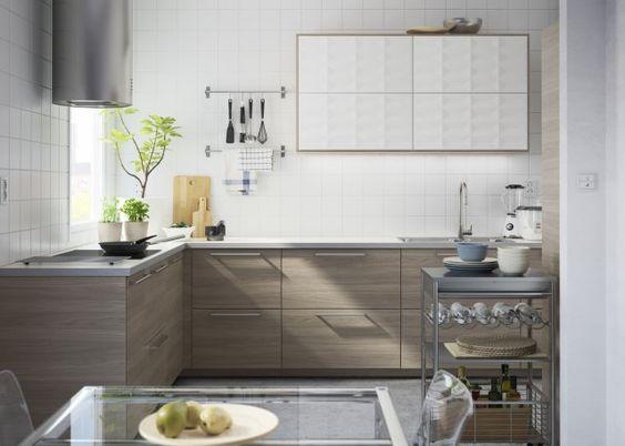 cuisine metodbrokhult ikea - Cuisine Ikea Marron