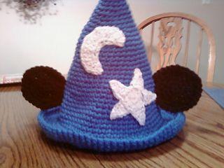 Mick Wizard pattern by JoAnne Grimm Thompson Hat crochet ...