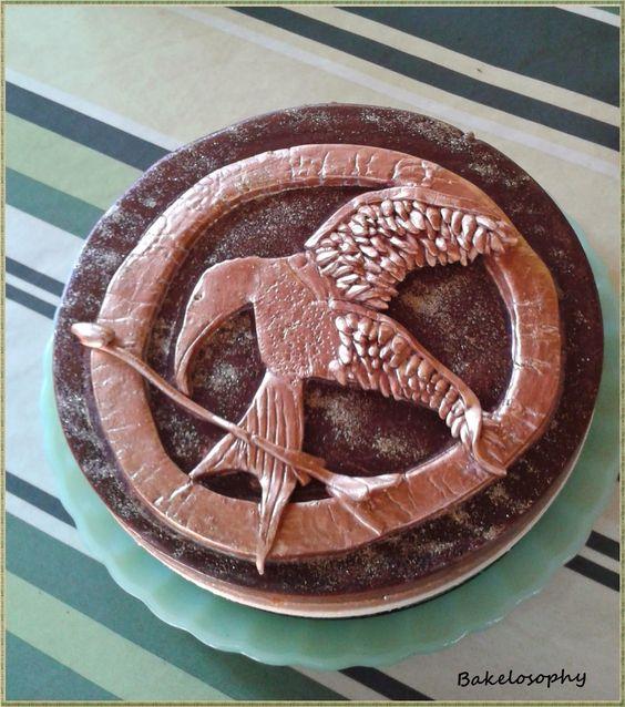 Sinsajo Cake - Sinsajo tarta
