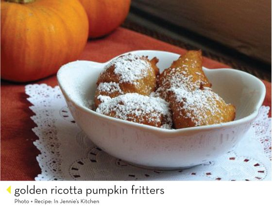 ... including fritters, pumpkin spiced creme brulee & pumpkin spiced syrup