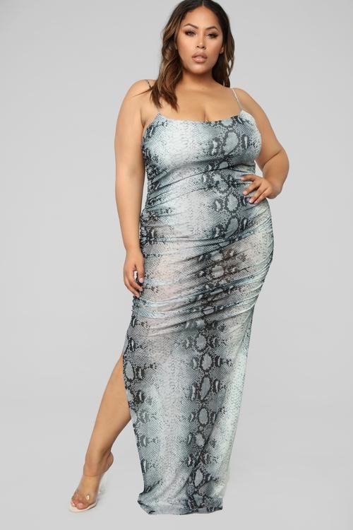 plus-size in 2019 | Night dress for women, Curvy dress, Plus ...