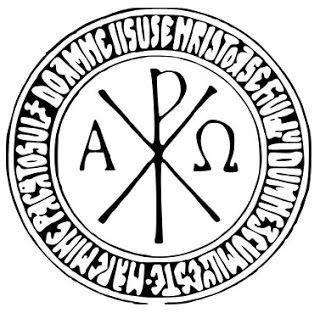 Los Símbolos Y Su Significado El Crismón O Cruz De Constantino In Hoc Signo V Símbolos Cristianos Símbolos Y Significados Simbolos Catolicos