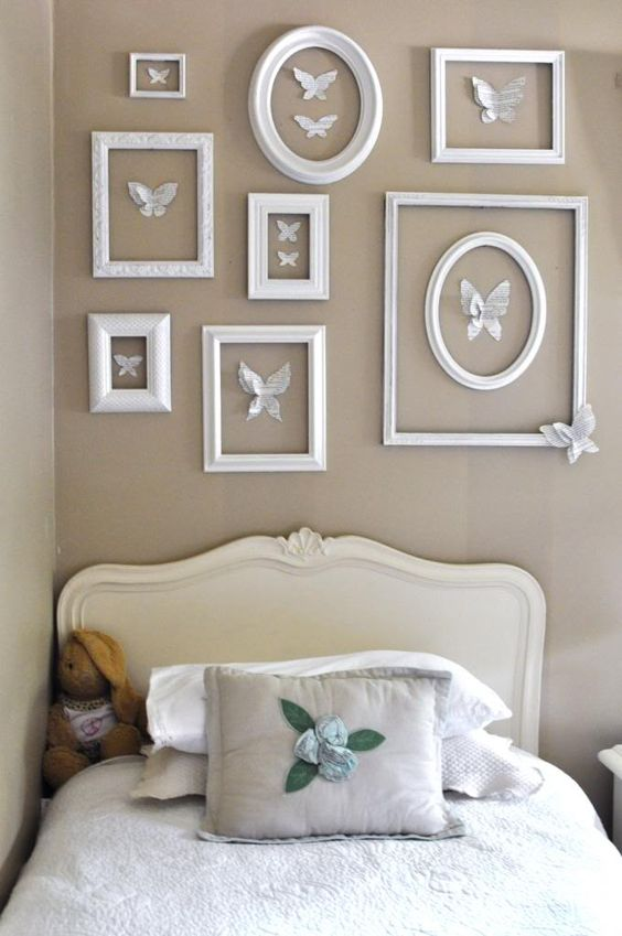 Creatively Made Home-Jennifer Rizzo Designs  Cute for little girl room or nursery: