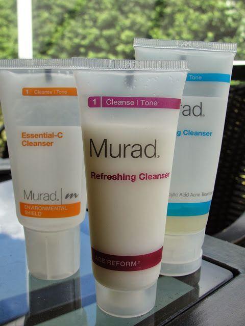 Murad Environmental Shield Essential C Cleanser Murad Age Reform Refreshing Cleanser Murad Acne Complex Clarifying Cleanser Review Skin Cleanser Products Clarifying Cleanser Cleanser Reviews