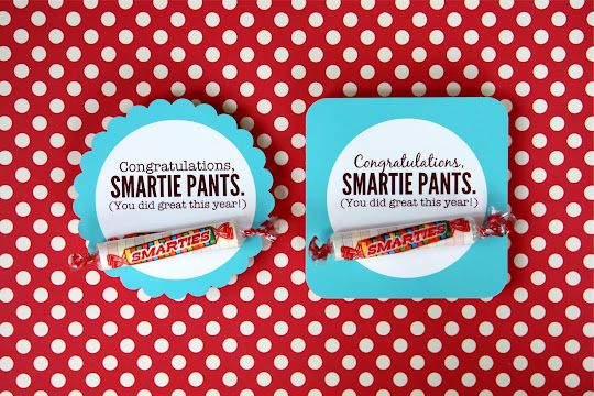 "Congratulations ""Smartie Pants"""