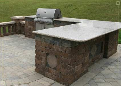 Pittsburgh Outdoor Kitchens Backyard Built In Gas Bbq