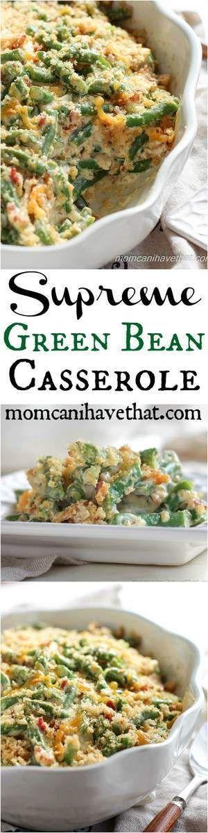 Supreme Green Bean Casserole Pin
