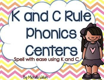 Do you students know when to start spelling a word with a K or C? Well here's an easy way to teach this phonics trick!