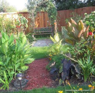 A tropical garden... in Minnesota!