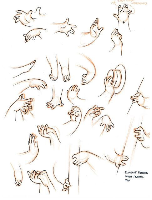 how to draw manga hands pdf