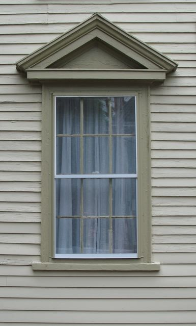 Mini Greek Revival Pediment Door And Window Pediments