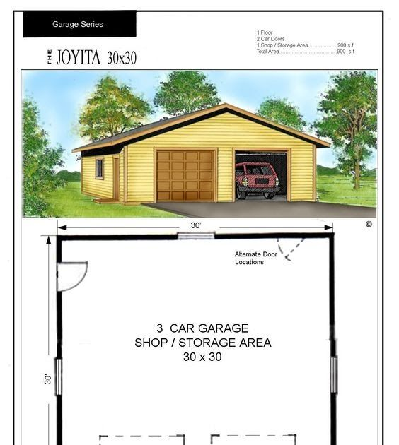 Best Representation Descriptions Related Searches 30x30 Metal Garage Kits30x30 Garage Plans With Garage Door Design Garage Building Plans Metal Garage Kits