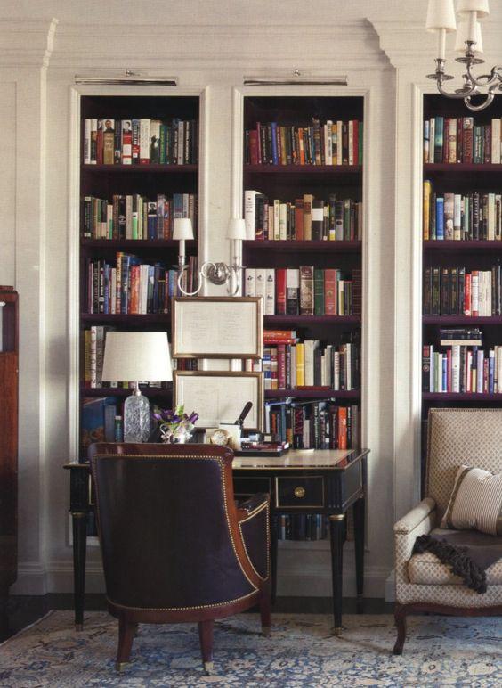 Bookshelf desk, Small desks and Offices on Pinterest