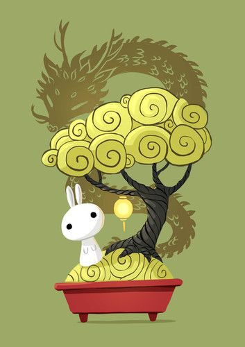 bonsai bunny by freeminds