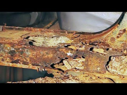 Repairing Severe Automotive Body And Frame Rust At Home Youtube Auto Body Repair Car Frames Truck Frames
