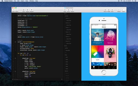 A new tool from Framer makes it easy to design with JavaScripteven if you don't know a lick of code.