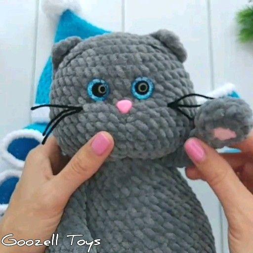 Free crochet cat pattern (With images) | Crochet cat pattern ... | 512x512
