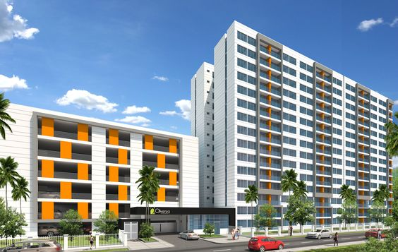 Render del Conjunto residencial Olivenza, en este proyecto participamos en el modelado 3d y texturizado, camaras, iluminación y rendering por Snapping SAS