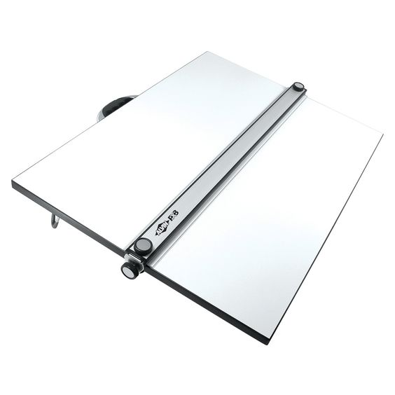 Alvin Parallel Straightedge Portable Drafting Board - What We Like About This Portable Drafting Table Plenty of unique innovations make this drafting table more than just a surface without the accompanyin...