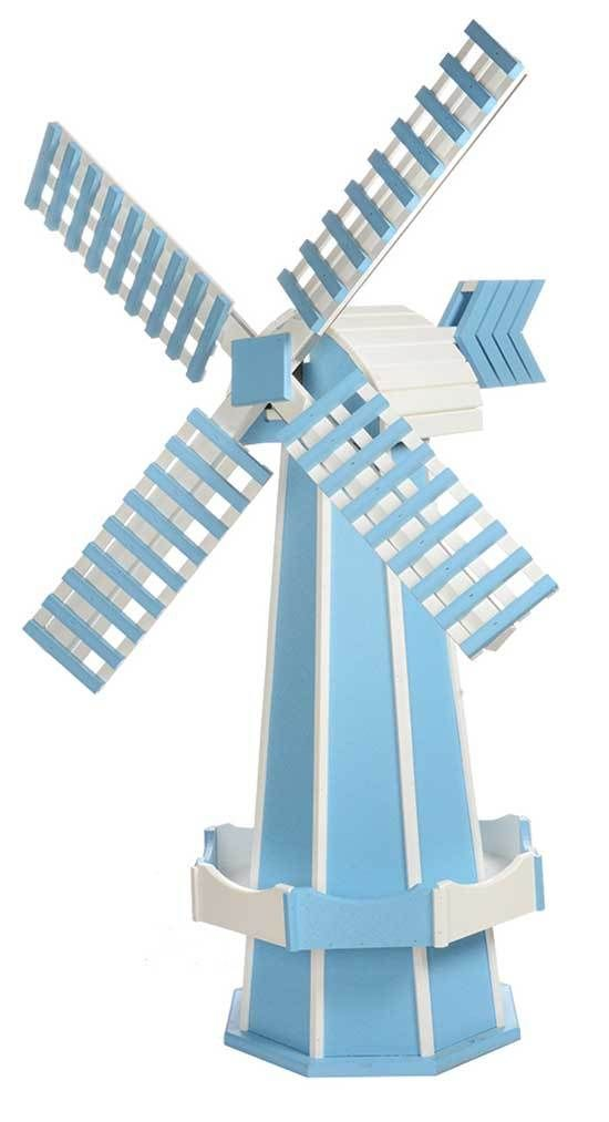 60 Poly Windmill Working Dutch Garden Weather Vane In 22 Colors